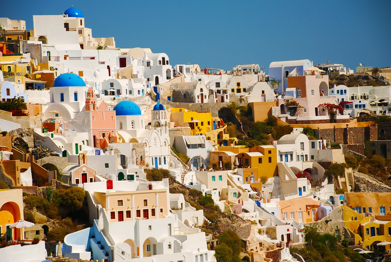 Seasons in Santorini Thira Island Weather and Climate