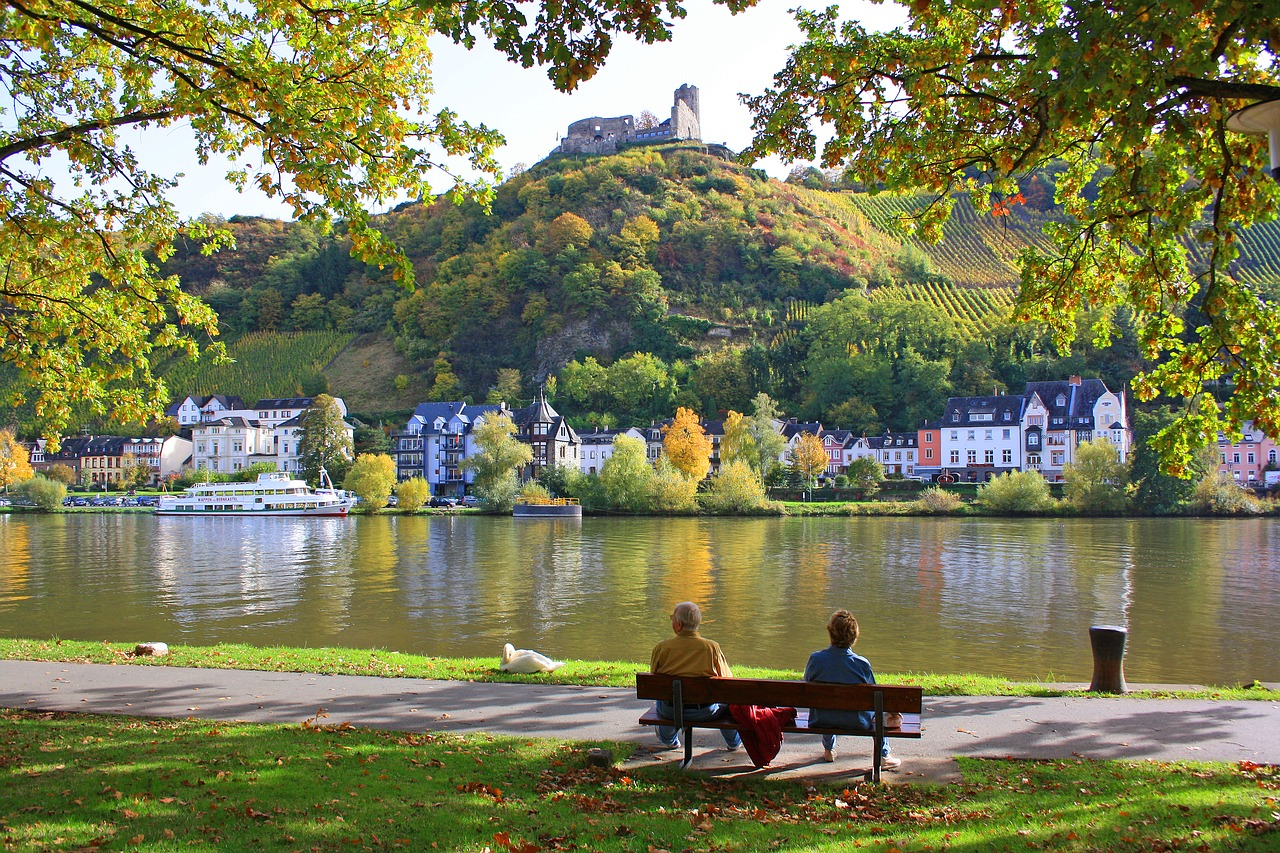 Germany - nature and climate. The rivers and lakes of Germany
